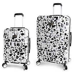Bebe Abigail Hardside Spinner Luggage in Leopard