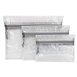 Gforce3 Rip-Proof 3-Pack Travel Pouches