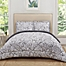 Part of the Truly Soft Watercolor Paisley Reversible Comforter Set