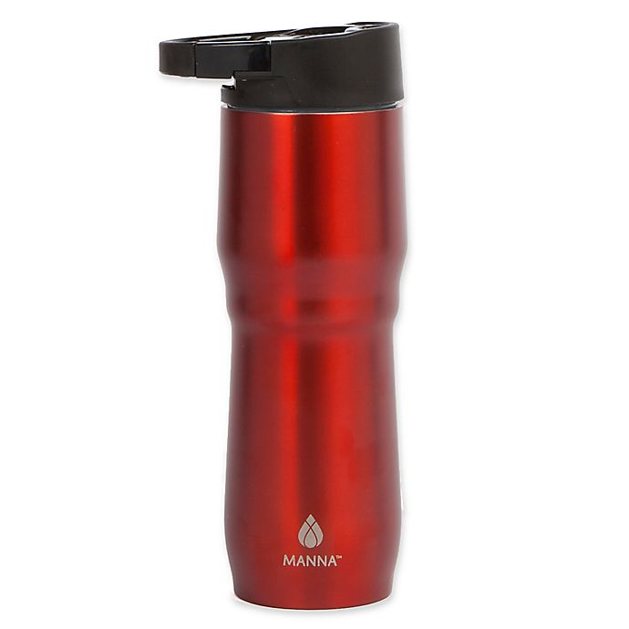 Alternate image 1 for Manna™ 15 oz. Dash Clip & Carry Coffee Mug in Red