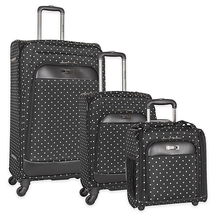 Alternate image 1 for Kenneth Cole Reaction Polka Dot Luggage Collection