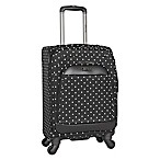 Kenneth Cole Reaction 20-Inch Spinner Carry-On Luggage in Black Dot