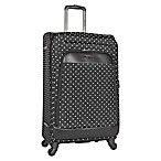 Kenneth Cole Reaction 28-Inch Spinner Checked Luggage in Black Dot