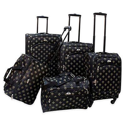 American Flyer Lyon 5-Piece Spinner Luggage Set