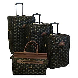 American Flyer Lyon 4-Piece Rolling Luggage Set