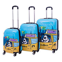 Ed Heck Riley Hardside Spinner Luggage Collection