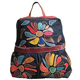 Floral Mini Carrier Backpack