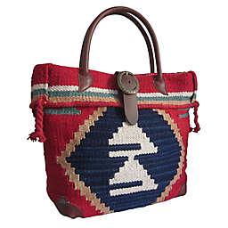 Amerileather Borka Handbag in Red