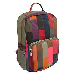 Xanadu 6-Inch Leather Backpack in Rainbow