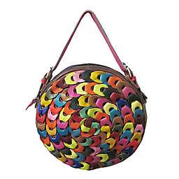 Amerileather Dream Catcher Pouch Handbag in Rainbow