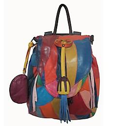 Amerileather Rainbow Betsy Backpack