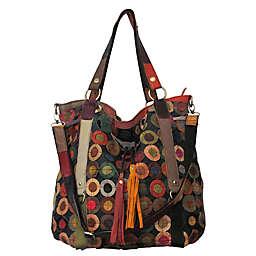 f9e1c15da05e Lloyd Leather Tote Bag in Rainbow