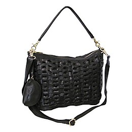 Amerileather Dixie Channeled Leather Handbag