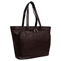 Amerileather Cosmopolitan Leather Tote Bag