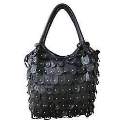 Peacock Leather Handbag