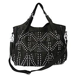 Spirit Studded Leather Tote Bag