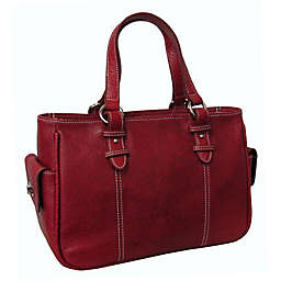 Amerileather Sophisticated Leather Shopper Bag