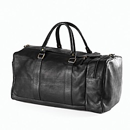 Clava® Vachetta Collection 20-Inch Leather One Pocket Duffle