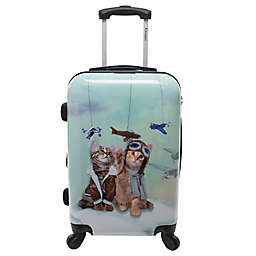 Chariot Toms Cats Expandable Carry On Luggage