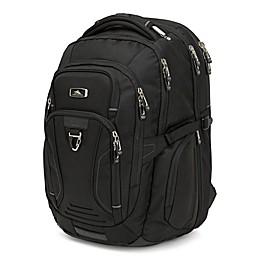 High Sierra TSA 19.5-Inch Elite Backpack in Black