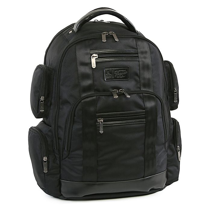 Alternate image 1 for Original Penguin® Peterson 18-Inch 9-Pocket Laptop/Tablet Backpack