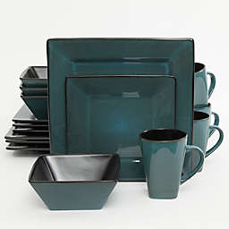 Gibson Kiesling 16-Piece Dinnerware Set in Blue