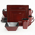 Gibson Kiesling 16-Piece Dinnerware Set in Red