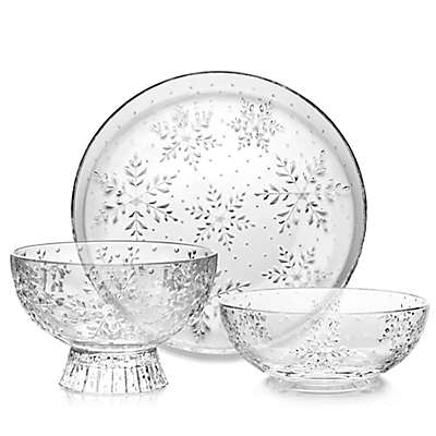 Mikasa® Celebrations Winter Flurries Serveware Collection