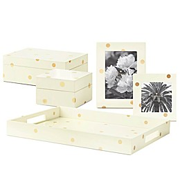 kate spade new york Gold Dot Lacquer™ Fine Giftware Collection