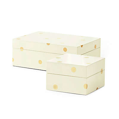 kate spade new york Gold Dot Lacquer™ Stacking Box