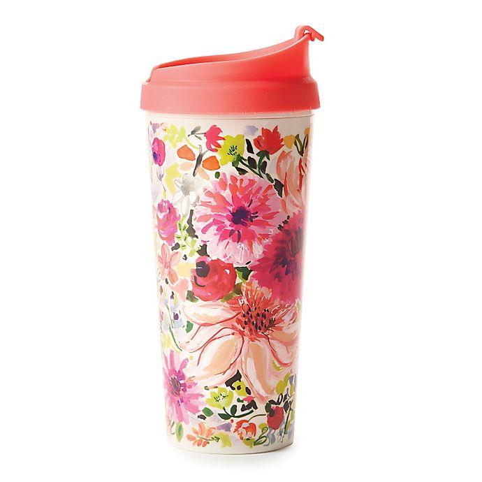 Alternate image 1 for kate spade new york Dahlia Floral Thermal Travel Mug