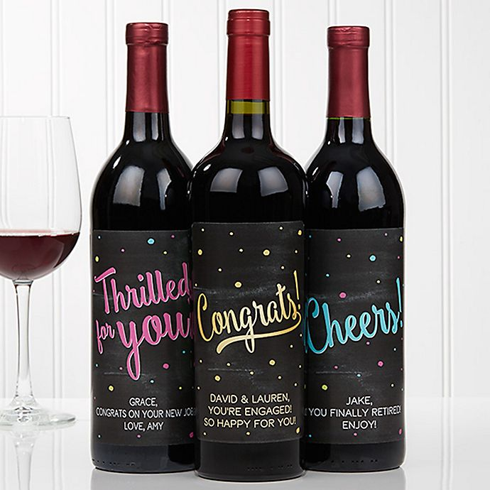 This is a photo of Amazing Wine Bottles and Labels