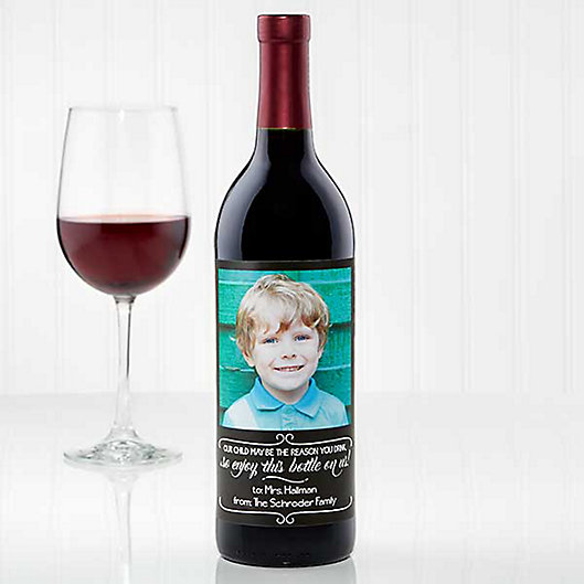 Alternate image 1 for The Reason You Drink Wine Bottle Label