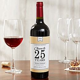 Retirement Blend Wine Bottle Label
