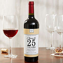 Retirement Blend Wine Bottle Label