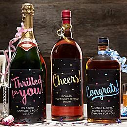 Congratulations Liquor Label