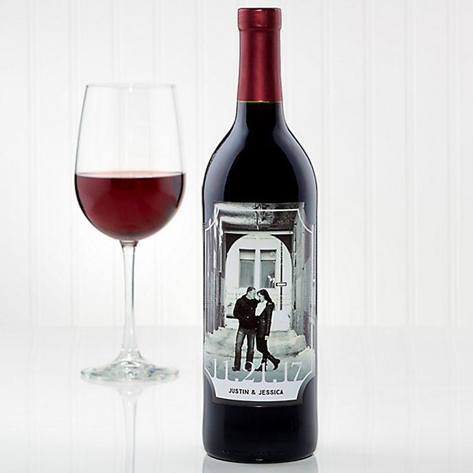 Alternate image 1 for Our Wedding Wine Bottle Label