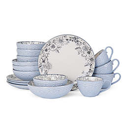 Pfaltzgraff® Gabriela 16-Piece Dinnerware Set in Grey
