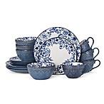 Pfaltzgraff® Gabriela 16-Piece Dinnerware Set in Blue