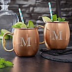 Smooth Copper Moscow Mugs (Set of 2)