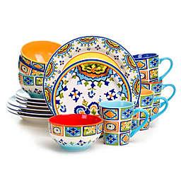 Euro Ceramica Mumbai 16-Piece Dinnerware Set
