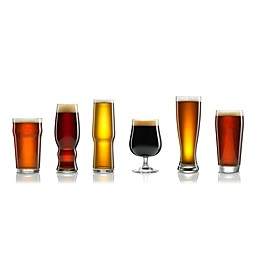 Luminarc Craft Brew Beer Glasses (Set of 6)