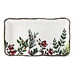 Greenery Melamine Rectangular Platter