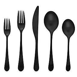 Gourmet Settings Windermere Flatware Collection in Black