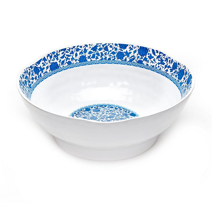Alternate image 1 for Q Squared Heritage Melamine Serving Bowl