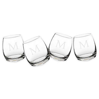 Cathy's Concepts Tipsy Whiskey Glasses (Set of 4)