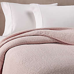 Kassatex Lafayette King Coverlet in Blush