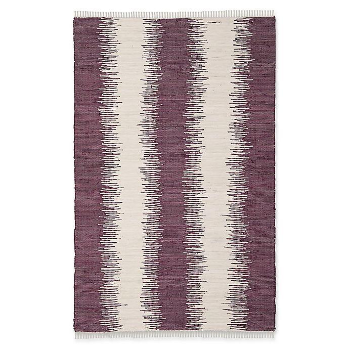 Alternate image 1 for Safavieh Montauk 5' x 8' Ryder Rug in Purple