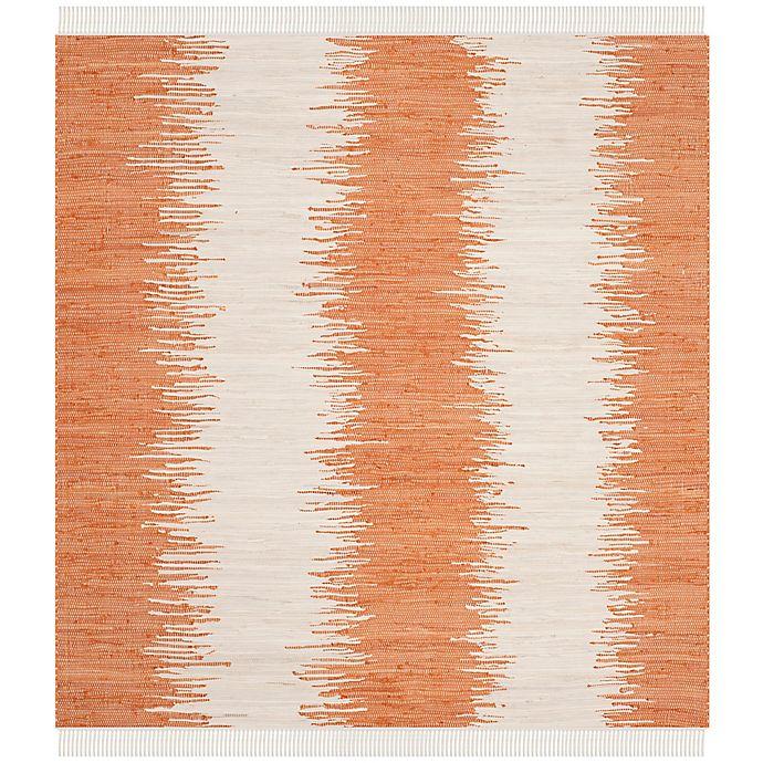Alternate image 1 for Safavieh Montauk 6' x 6' Ryder Rug in Orange