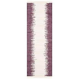 "Safavieh Montauk 2'3"" x 7' Ryder Rug in Purple"